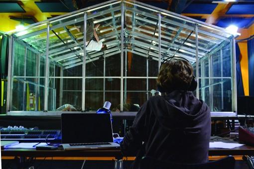 Anouk van Dijk observes rehearsals