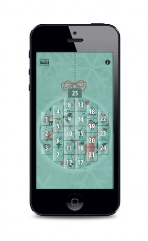 Naxos advent calendar app