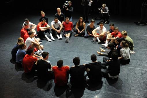 Football dance workshop © Peter Thomas