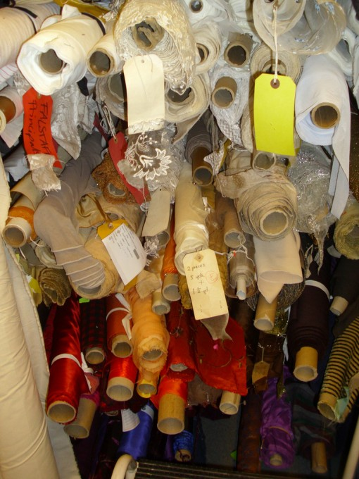 Fabric Store, Costume Department © ROH 2011