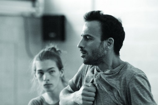 Shechter in rehearsal © Heather Judge