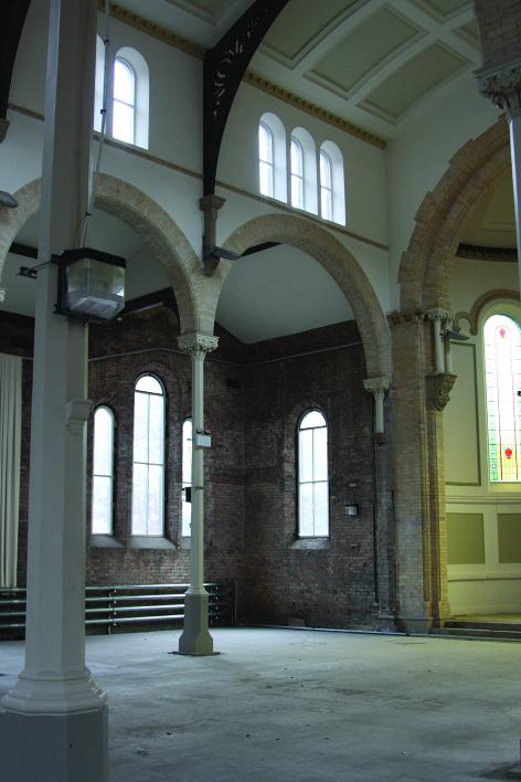 St Peter's prior to repurposing