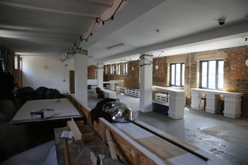 Fish Island Labs interior