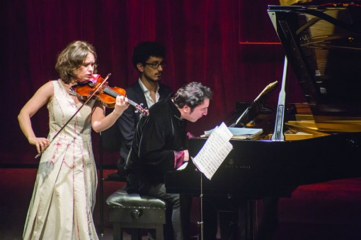 Patricia Kopatchinskaja performs with Fazil Say at the 2014 festival