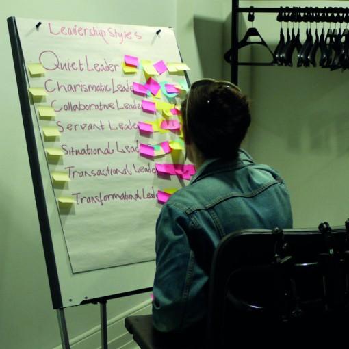 Sync Leadership programme participant