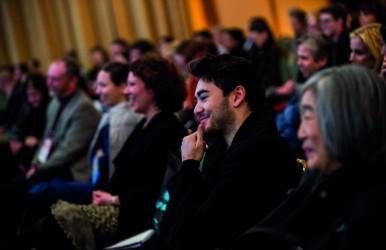 Audience at The Luminosity Factor Plenary at APAP NYC 2014 © Gabi Porter APAP