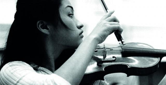 Kyung Wha Chung, BBC Studios, London 1970