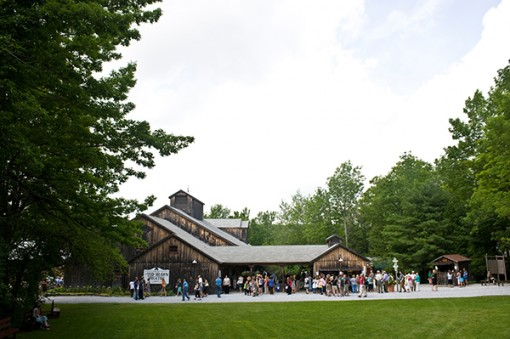 The Ted Shawn Theatre at Jacob's Pillow