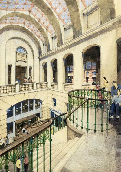 Impression of new foyer