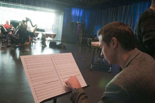Composer Aaron Holloway-Nahum