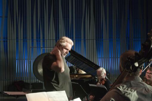 Guðni Franzson conducting Caput