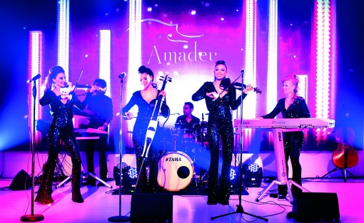 Amadeus, corporate events string quartet