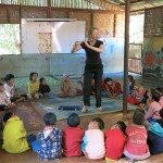 Alyson Frazier at the 1st International Play for Progress Programme in Thailand and Burma (Feb - March, 2015)
