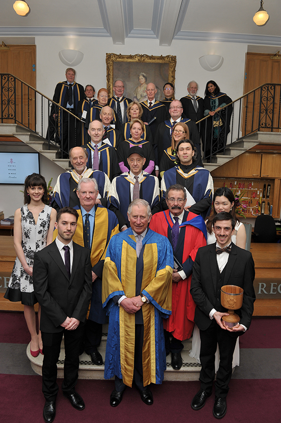 Royal College of Music President's Visit 2016 © Chris Christodoulou