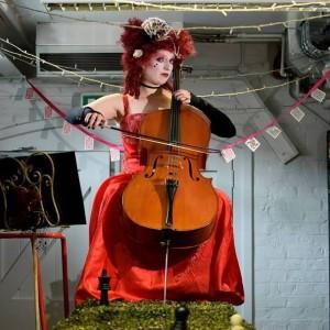 Margit van der Zwaan as The Queen of Hearts at MIF15