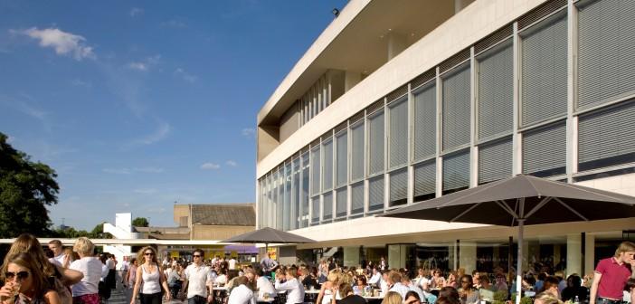Riverside Terrace Cafe at Royal Festival Hall © Morley von Sternberg
