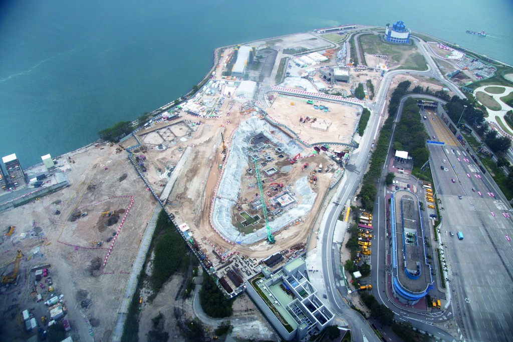 WKCD under construction