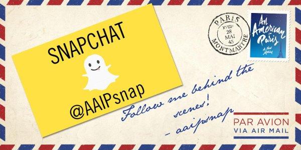 An American in Paris Snapchat