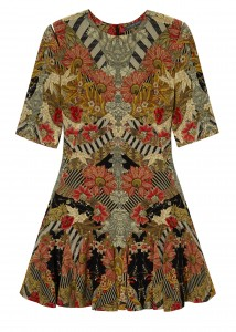Alexander McQueen dress (£1,875)
