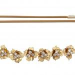 Jennifer Behr Triple crystal bandeaux headband (£263)