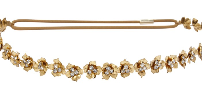 Jennifer Behr Triple crystal bandeaux headband (£263)