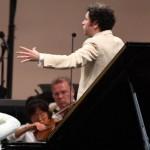 Lang Land and Gustavo Dudamel