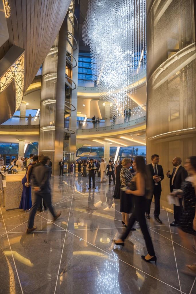 Dubai Opera's interior at Plácido Domingo's inaugural performance © PRNewsFoto/Dubai Opera