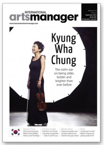 IAM September Issue:  Kyung Wha Chung: