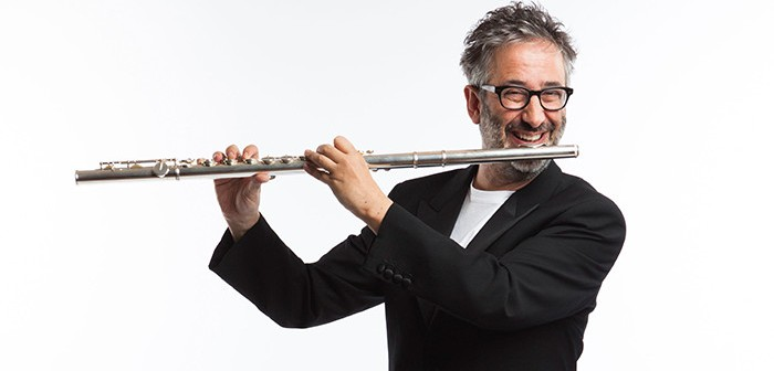 David Baddiel Virtual Orchestra © BBC