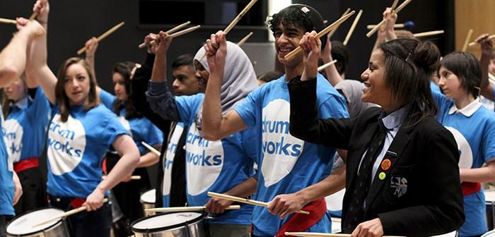 Drum Works / Morpeth interschool: Photo © Susana Sanroman