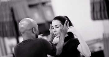 Akram Khan and Tamara Rojo developing Giselle © Laurent Liotardo