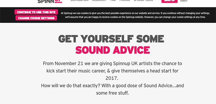 SPINNUP Website