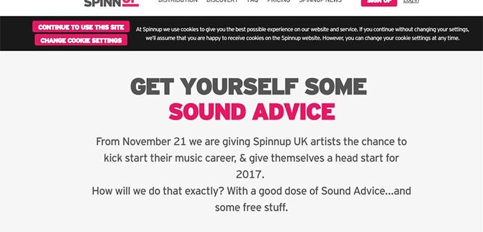 SPINNUP Website