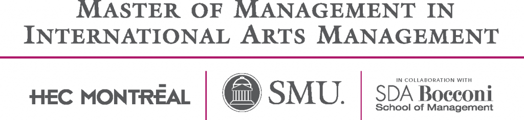 Master of Management in International Arts Management (MMIAM) Logo