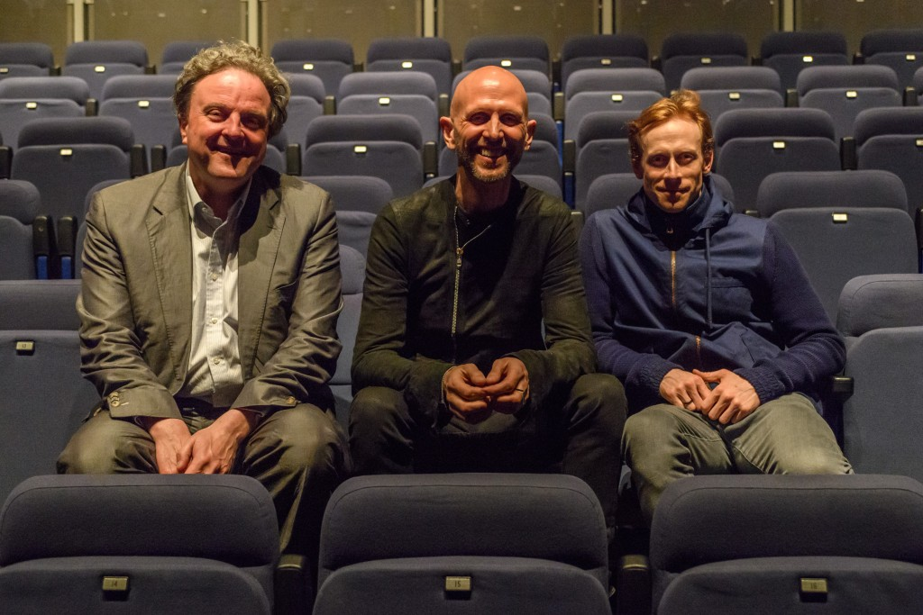 Michael Chance, Wayne McGregor, Ed Watson. Photograph © Jane Hobson