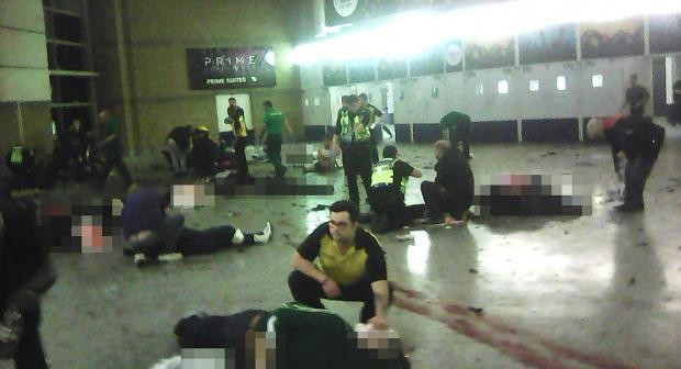Bombing at Manchester concert arena leaves 22 dead and 59 injured