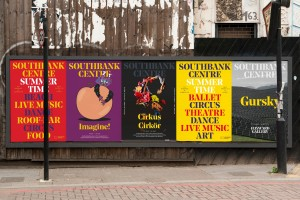 Southbank Centre Billboard by North