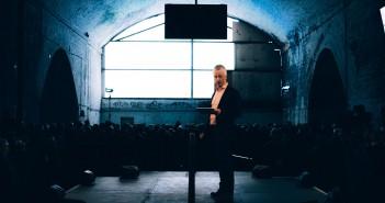 John McGrath at Manchester International Festival 2017 Launch at Mayfield Depot. Photo © Tarnish Vision