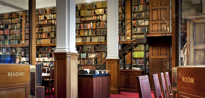 The London Library reading room: Photo © Philip Vile