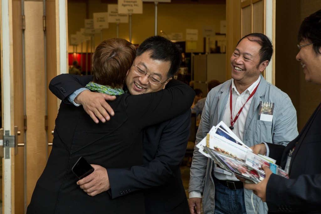 Chinese delegates at the 2015 conference in Vancouver © The Photo Group