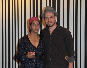 Artistic director Persis-Jadé Maravala with Jorge Lopes Ramos