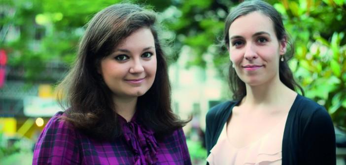 Katya Kazakevich and Stella Toonen © Rhian Hughes