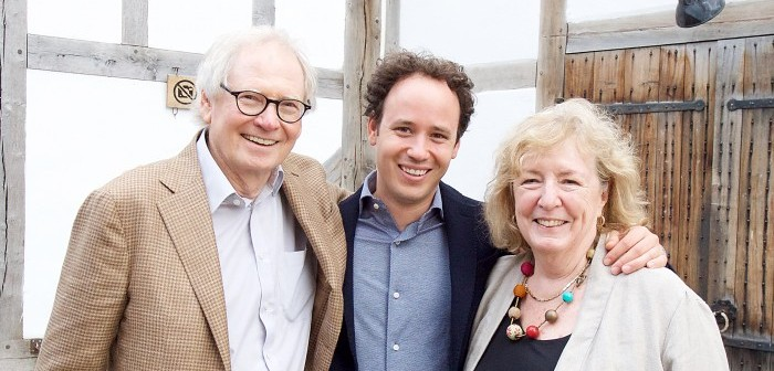 Michael Loubser, Gergely Madaras and Cathy Loubser © Elliott Franks