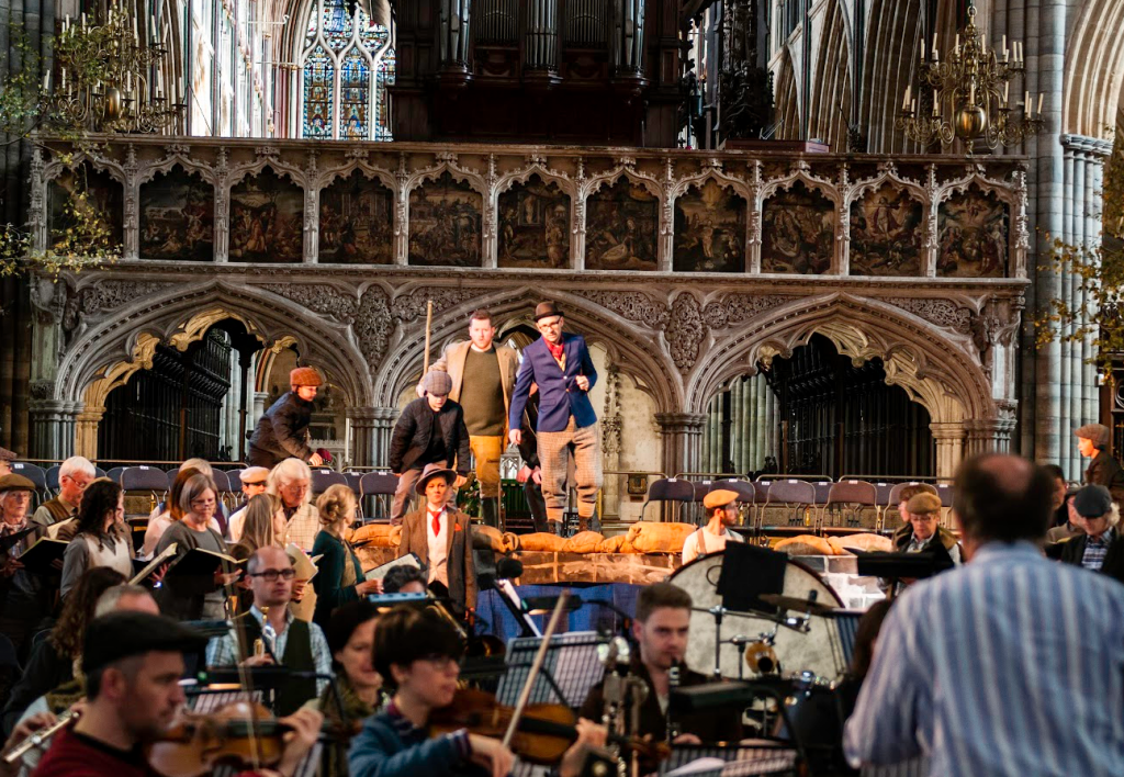 Community concert at Two Moors Festival