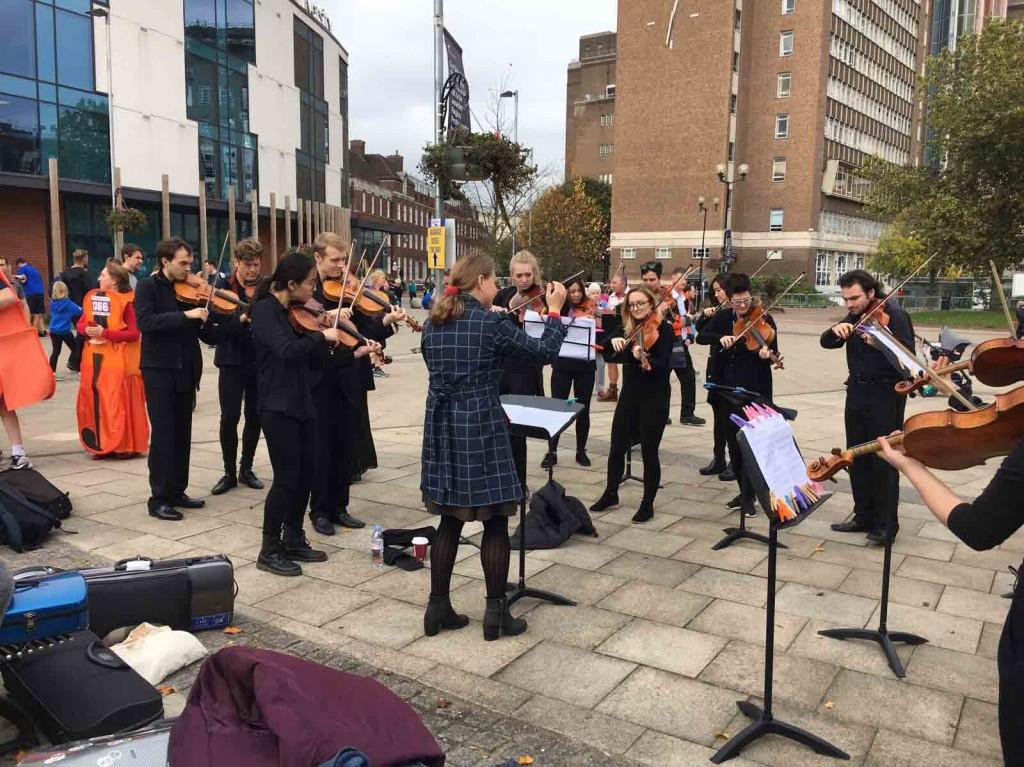 Performance by Royal Birmingham Conservatoire students © RBC