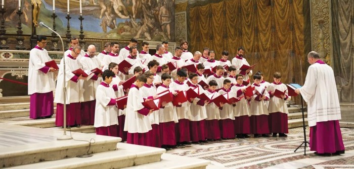 Sistine Chapel Choir © Courtesy of Sistine Chapel Choir
