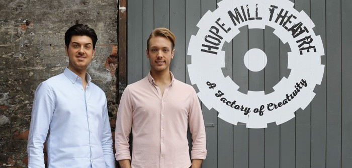 Joe Houston and Will Whelton of Hope Mill Theatre © Anthony Robling