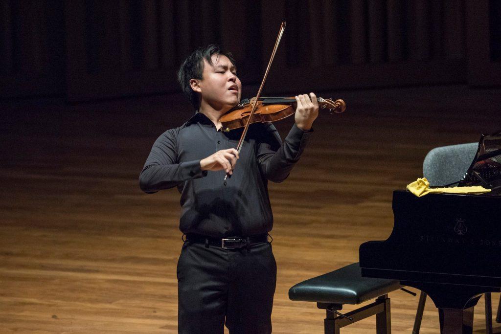 Semi-finalist Luke Hsu @ SIVC