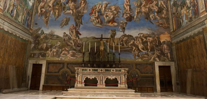 Sistine Chapel © Andrea Hanks