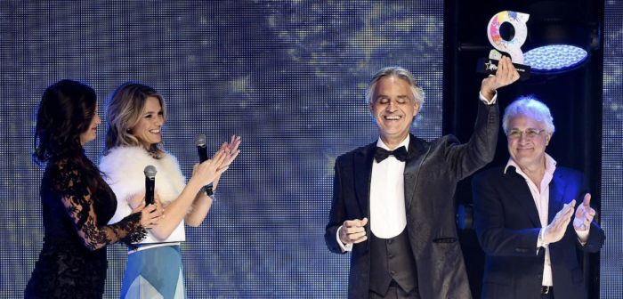 Andrea Bocelli © Global Awards